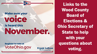 Make your voice heard in November: links to information for voters