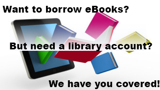 get a temporary library card