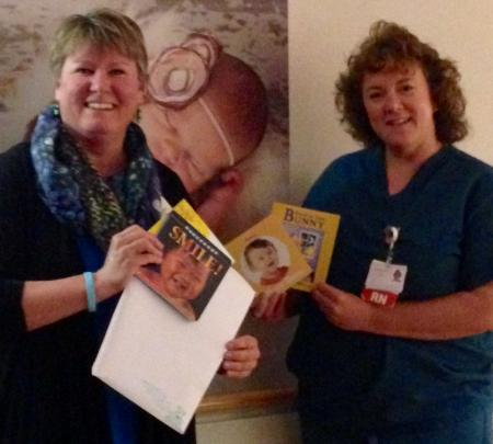 Books for Babies packets being delivered to Wood County Hospital