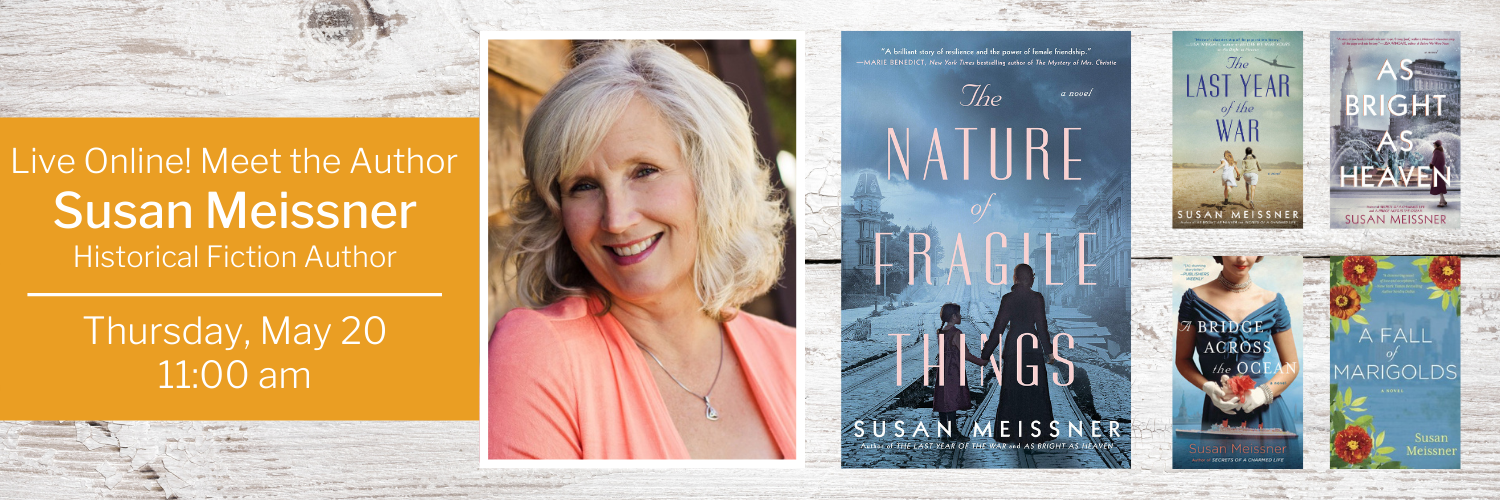 Live Online! Meet the Author - Susan Meissner