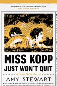 Miss Kopp Just Won't Quit, book cover