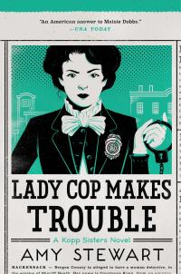 book cover, Lady Cop Makes Trouble