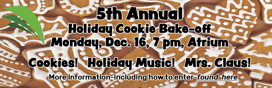 5th Annual Cookie Bake-off, Dec. 17, 7 pm